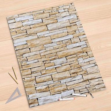 Folienbogen (80x120cm) - Sandstein