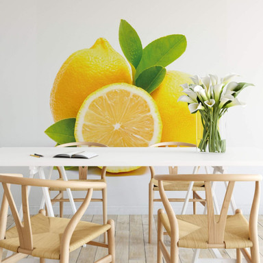 Fototapete Lemons - 240x260cm - Bild 1