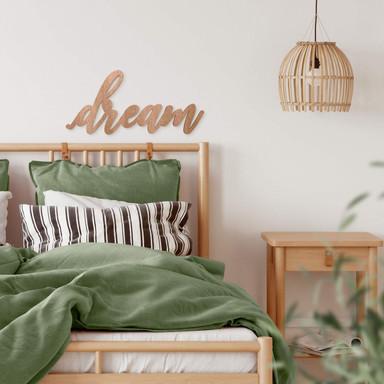 Holzbuchstaben - Dream 03