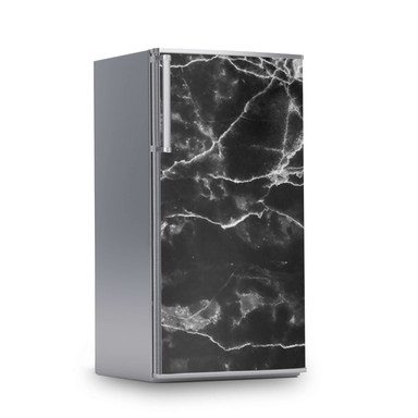 Kühlschrankfolie 60x120cm - Marmor schwarz- Bild 1