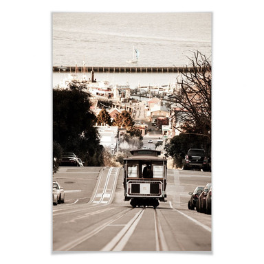 Poster Cable Cars