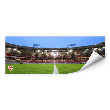 Wallprint VfB Stuttgart Arena Tribüne - Panorama