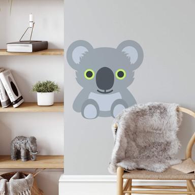 Wandtattoo Emoji Koala