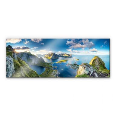 Acrylglasbild Roemmelt - Aussicht vom Reinebringen - Panorama