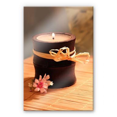 Acrylglasbild  Wellness Candle