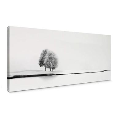 Leinwandbild Huybighs - Ein stiller Moment - Panorama