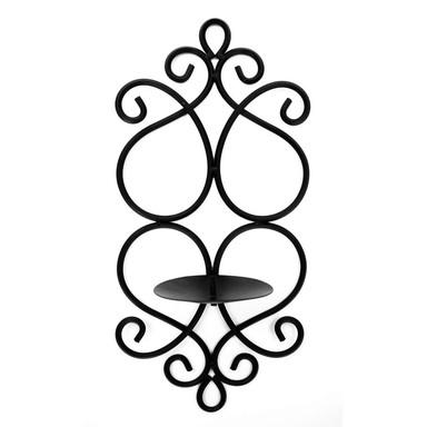 Metall Wand Teelichthalter 04 - 19x40cm - Bild 1