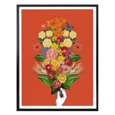 Poster Feldmann - Botanical Red