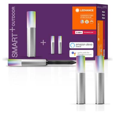 SMART& Zigbee LED Wegeleuchten 3x 0.7W 111lm IP65 RGBW