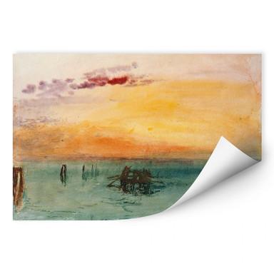 Wallprint Turner - Venedig von Fusina aus gesehen