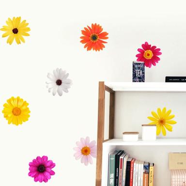 Wandsticker Blüten-Set
