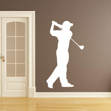 Wandtattoo Golfer 03