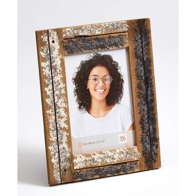 Dupla Portraitrahmen - 13x18cm creme, blau - Bild 1