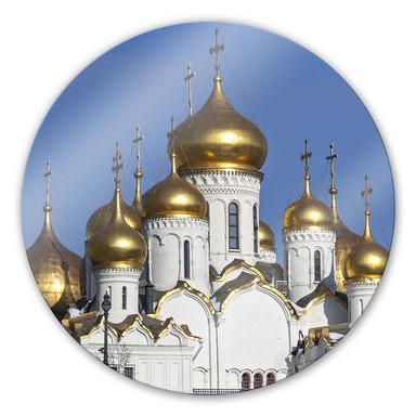 Glasbild Mariä - Verkündigungs  -Kathedrale - rund
