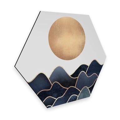 Hexagon - Alu-Dibond - Fredriksson - Welle