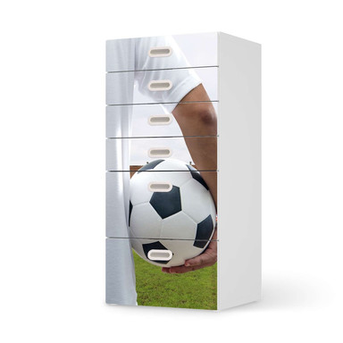 Klebefolie IKEA Stuva / Fritids Kommode - 6 Schubladen - Footballmania- Bild 1