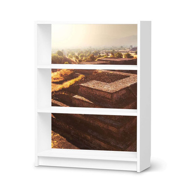 Möbelfolie IKEA Billy Regal 3 Fächer - Teotihuacan