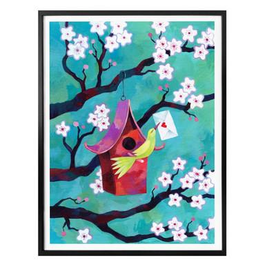 Poster Blanz - Kirschblüten