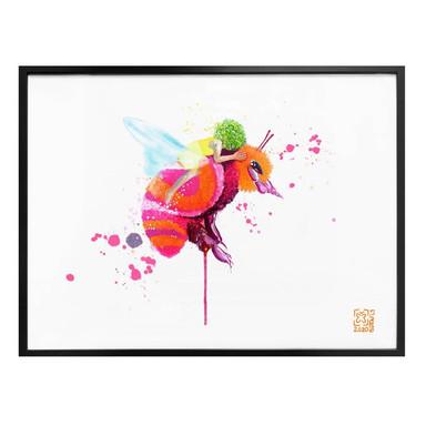 Poster Buttafly - Bienenmädchen