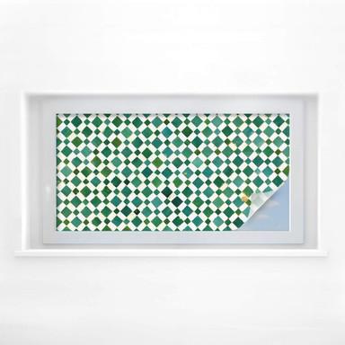 Sichtschutzfolie Mosaik 02 - Panorama