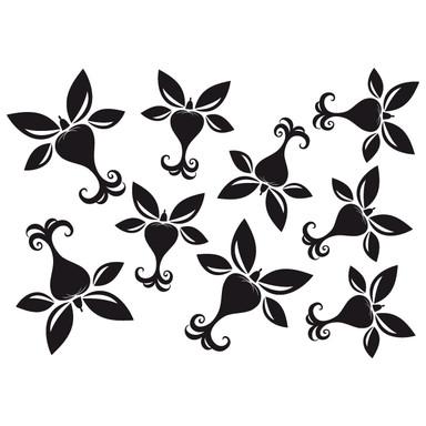 Wandtattoo Blüten-Set 16