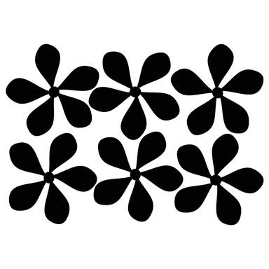 Wandtattoo Blüten-Set 5