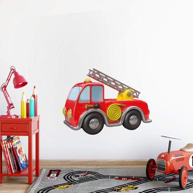 Wandtattoo Michel Agullo - Feuerwehr-Fahrzeug