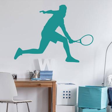 Wandtattoo Tennisspieler 02