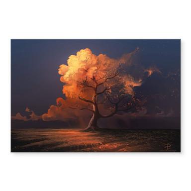 Acrylglasbild aerroscape - Später Herbst