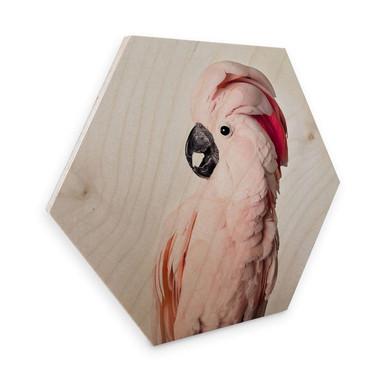 Hexagon - Holz Sisi & Seb - Rosa Kakadu