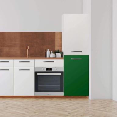 Klebefolie - Hochschrank (60x100cm) - Grün Dark- Bild 1