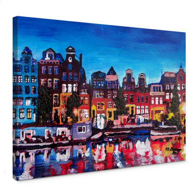 Leinwandbild Bleichner - Amsterdam