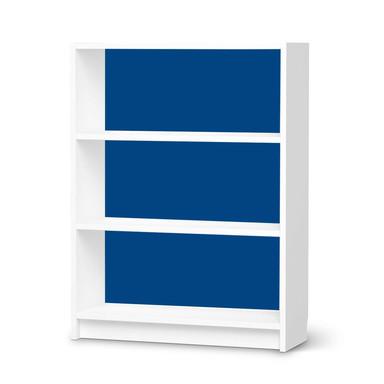 Möbelfolie IKEA Billy Regal 3 Fächer - Blau Dark