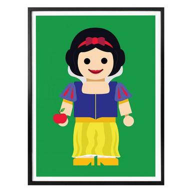 Poster Gomes - Schneewittchen Spielzeug