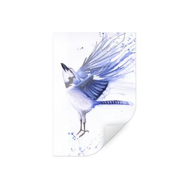 Poster Müller - Blaumeise