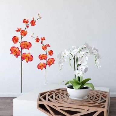 Wandsticker Orchidee 1