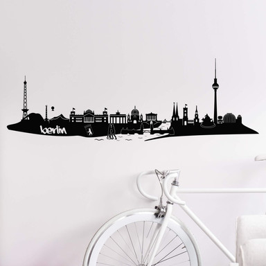 Wandtattoo Berlin Skyline 3