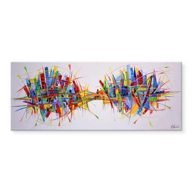 Acrylglasbild Fedrau - Mechanismus - Panorama