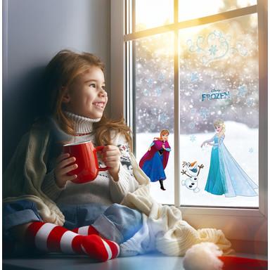 Fenstersticker Frozen Snowflake