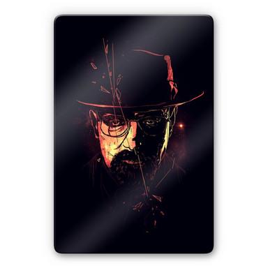 Glasbild Nicebleed - Heisenberg