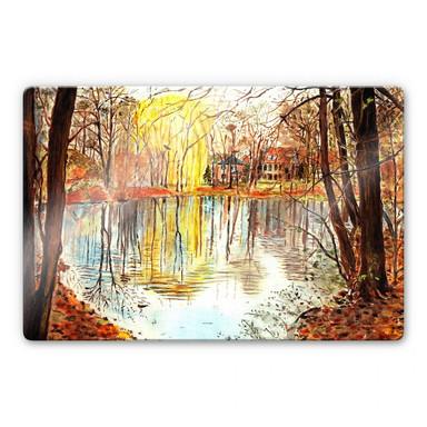 Glasbild Toetzke - Herbstzauber
