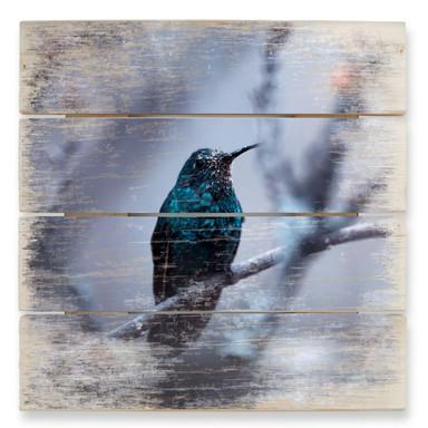 Holzbild Bravien - Electrical Blue