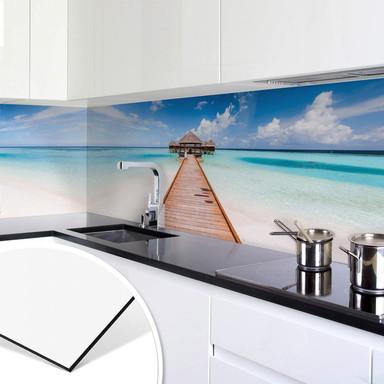 Küchenrückwand Colombo - Der Weg ins Paradies