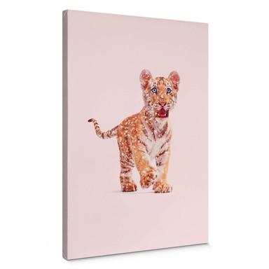 Leinwandbild Loose - Glitter Tiger