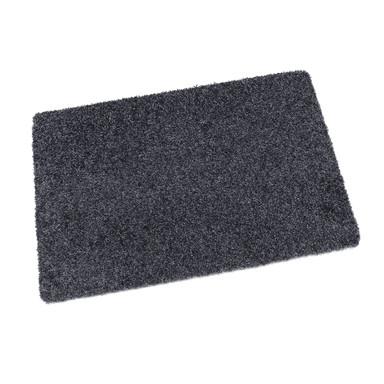 Protex waschbare Fussmatte graublau