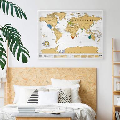 Scratch Map - Weltkarte - deutschsprachige Edition - Bild 1