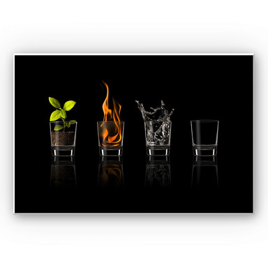 Wandbild Frutos Vargas - The Four Elements