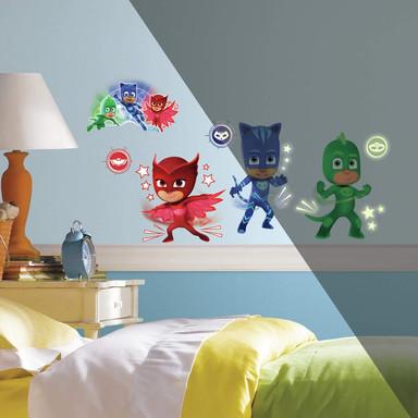 Wandsticker PJ Masks mit Leuchteffekt - Bild 1