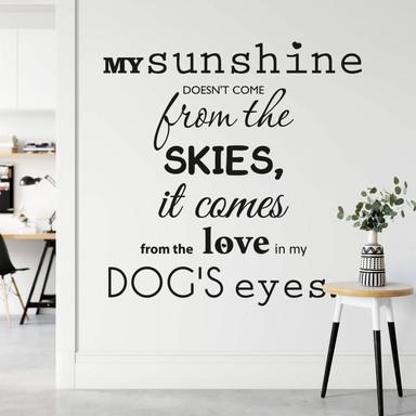 Wandtattoo My sunshine...