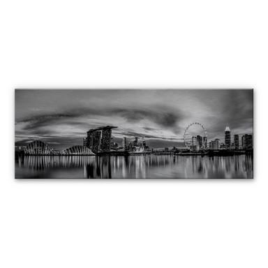 Alu-Dibond Bild Xie - Lights in London - Panorama